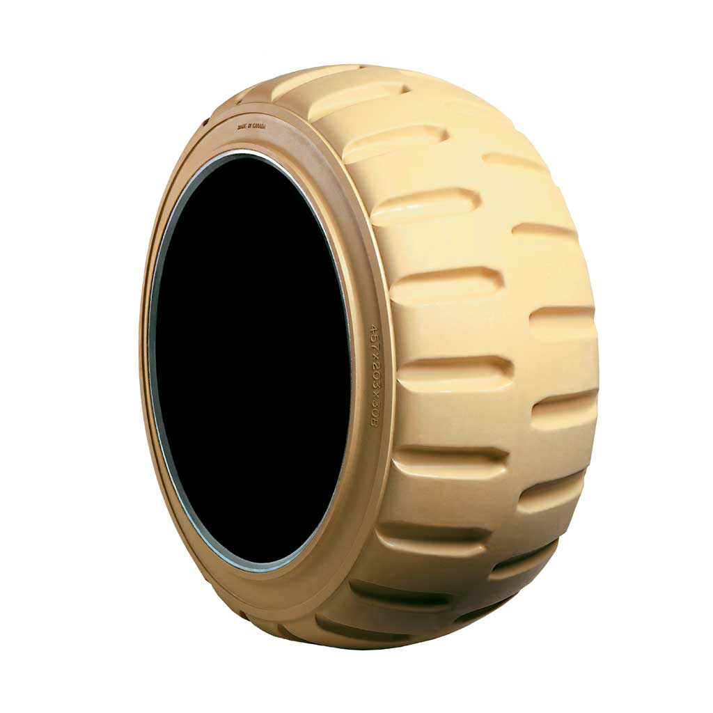 Non Marking Forklift Tire