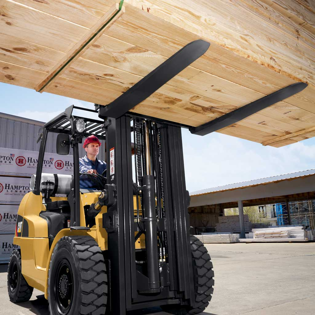 Mid Size Pneumatic Tire Forklifts